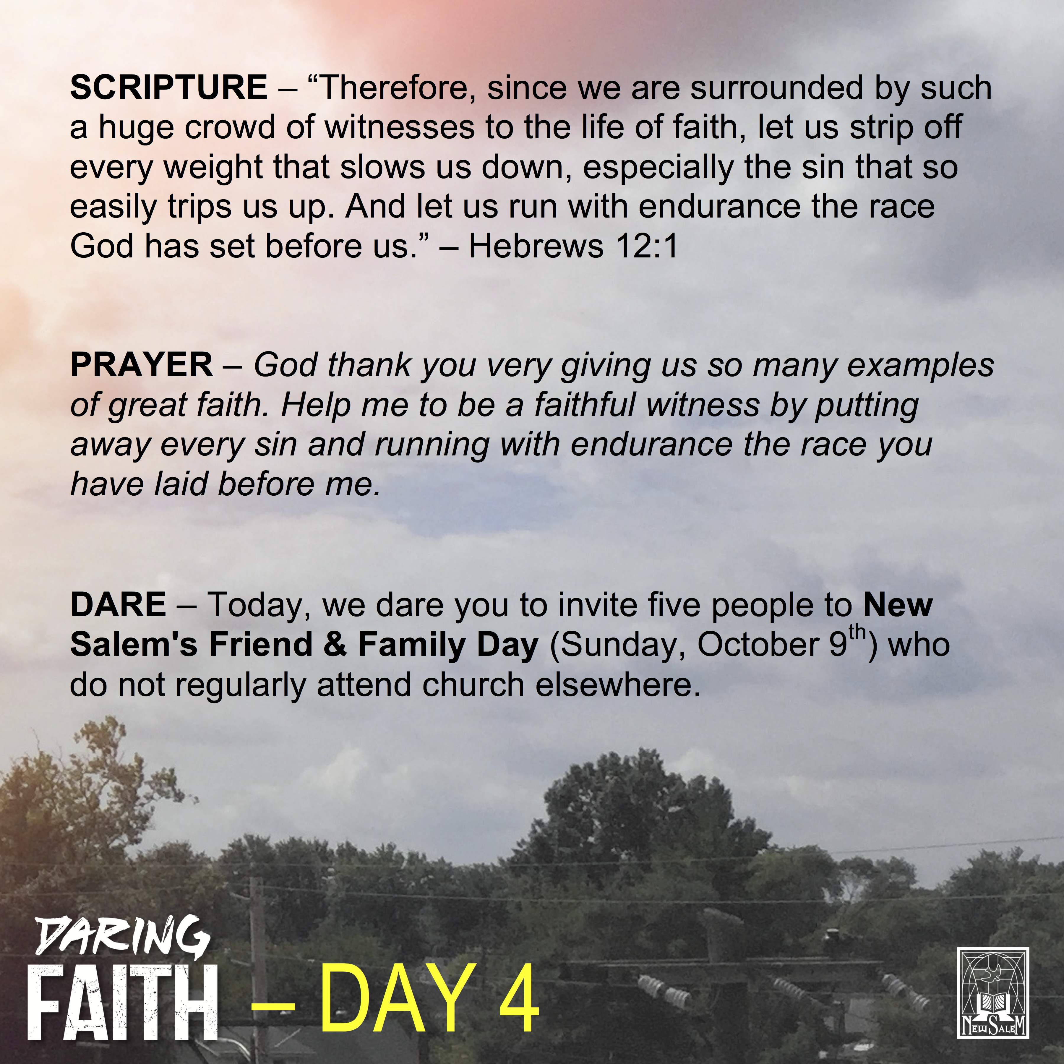 Daring Faith Devotional - Day 4