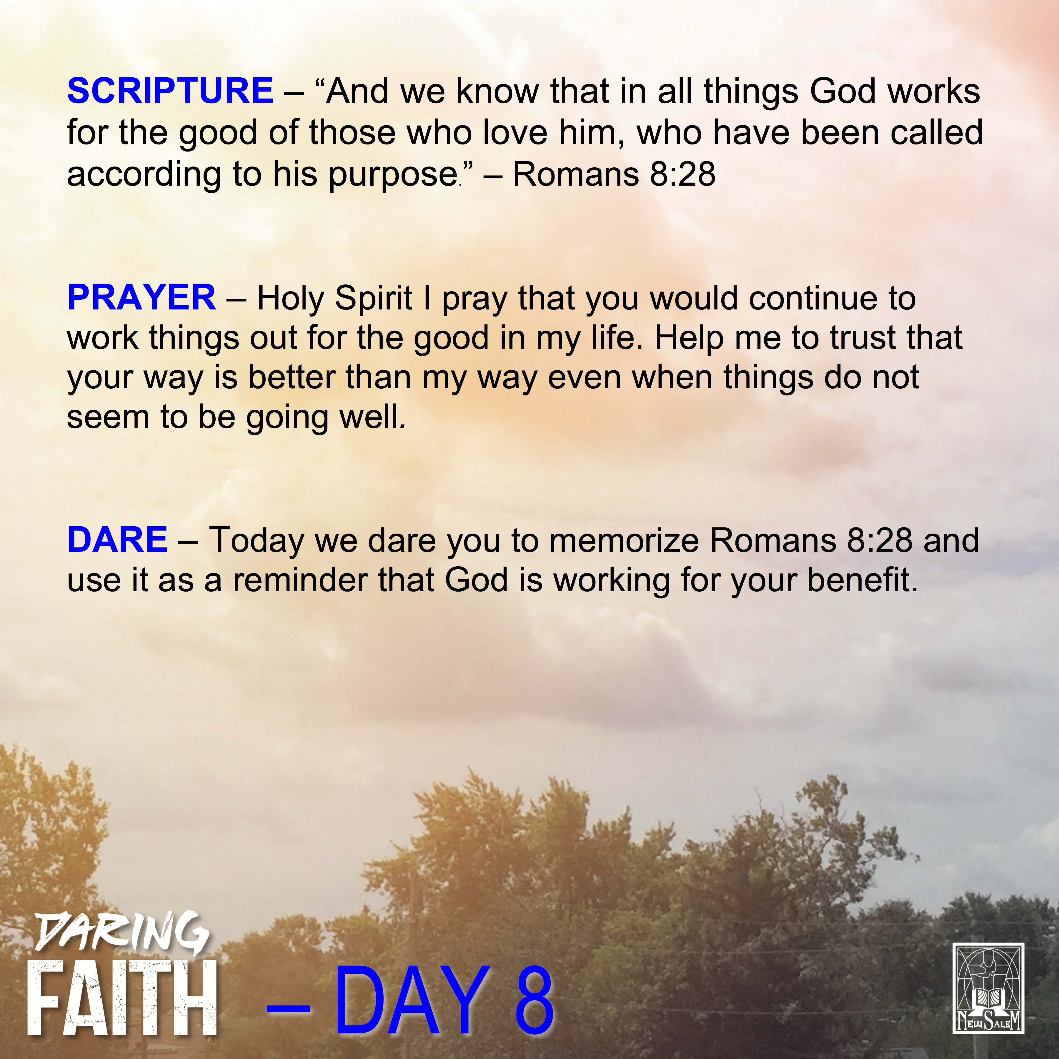 Daring Faith Devotional - Day 8