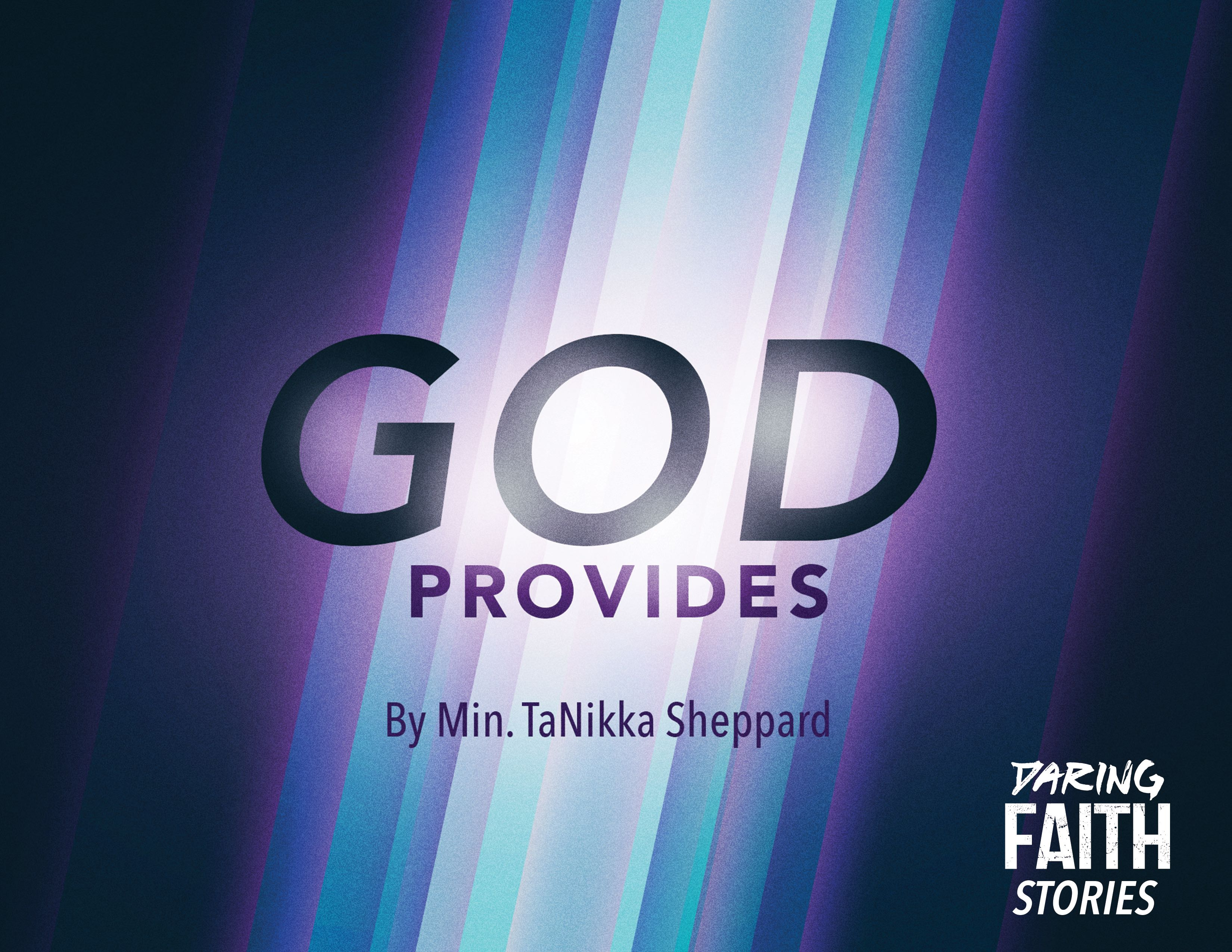 God Provides - Leadership Insight