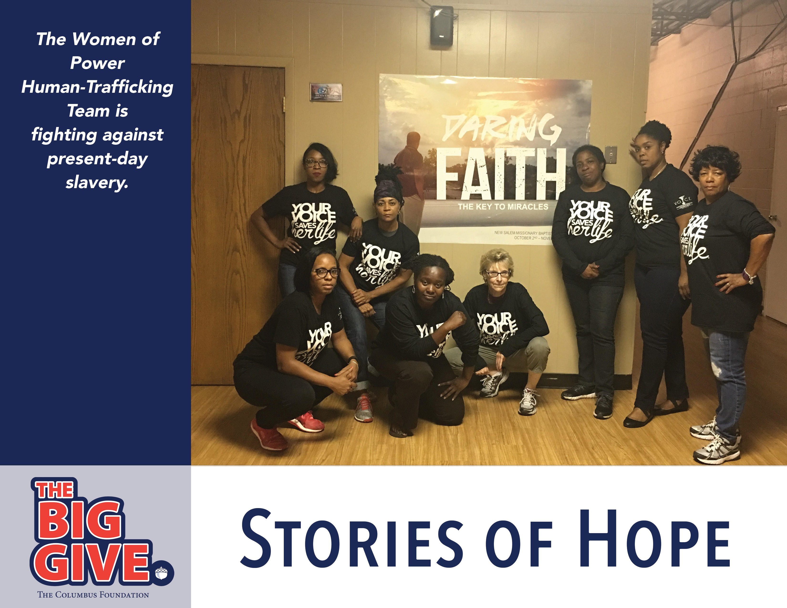 Human Trafficking Stories of Hope