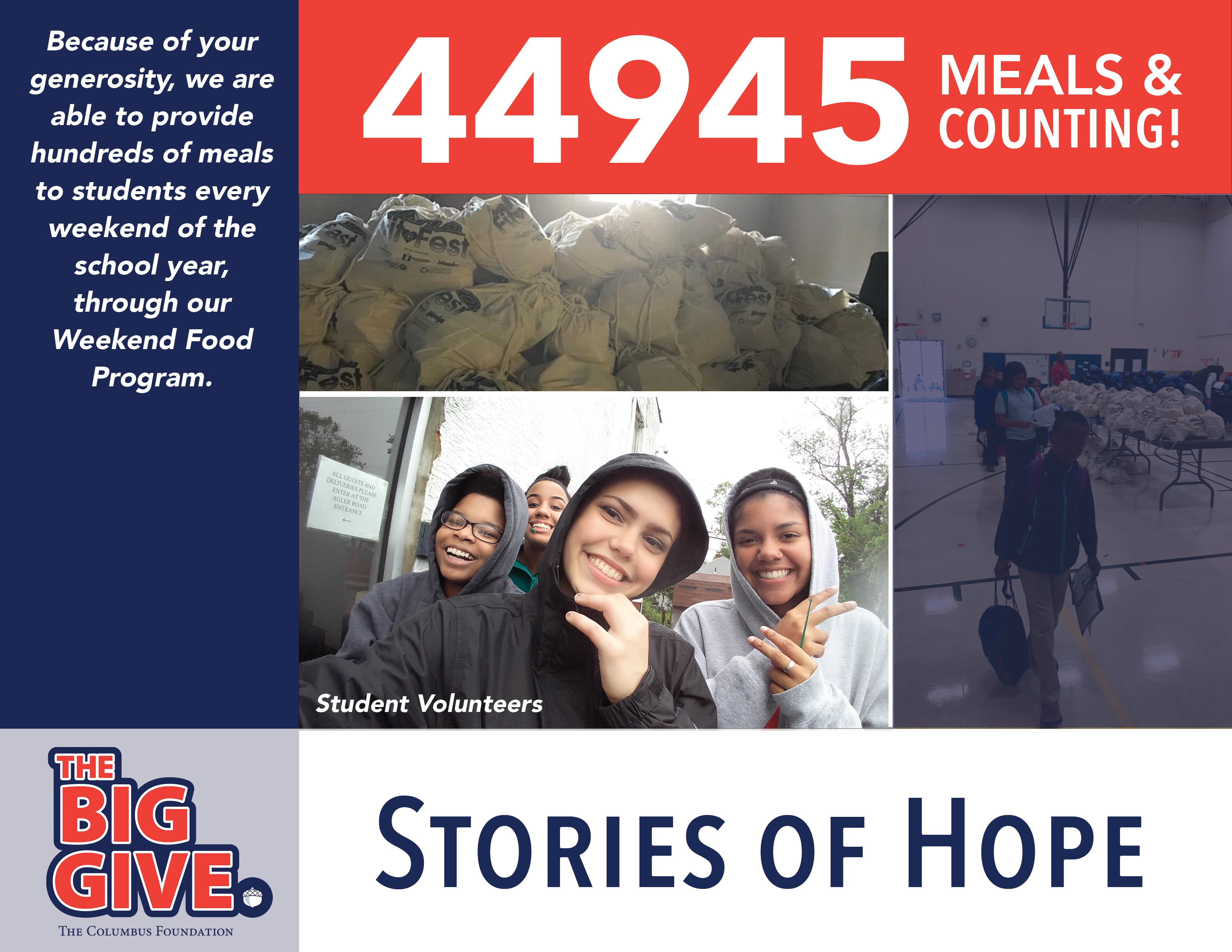 Stories of Hope - Weekend Food Program