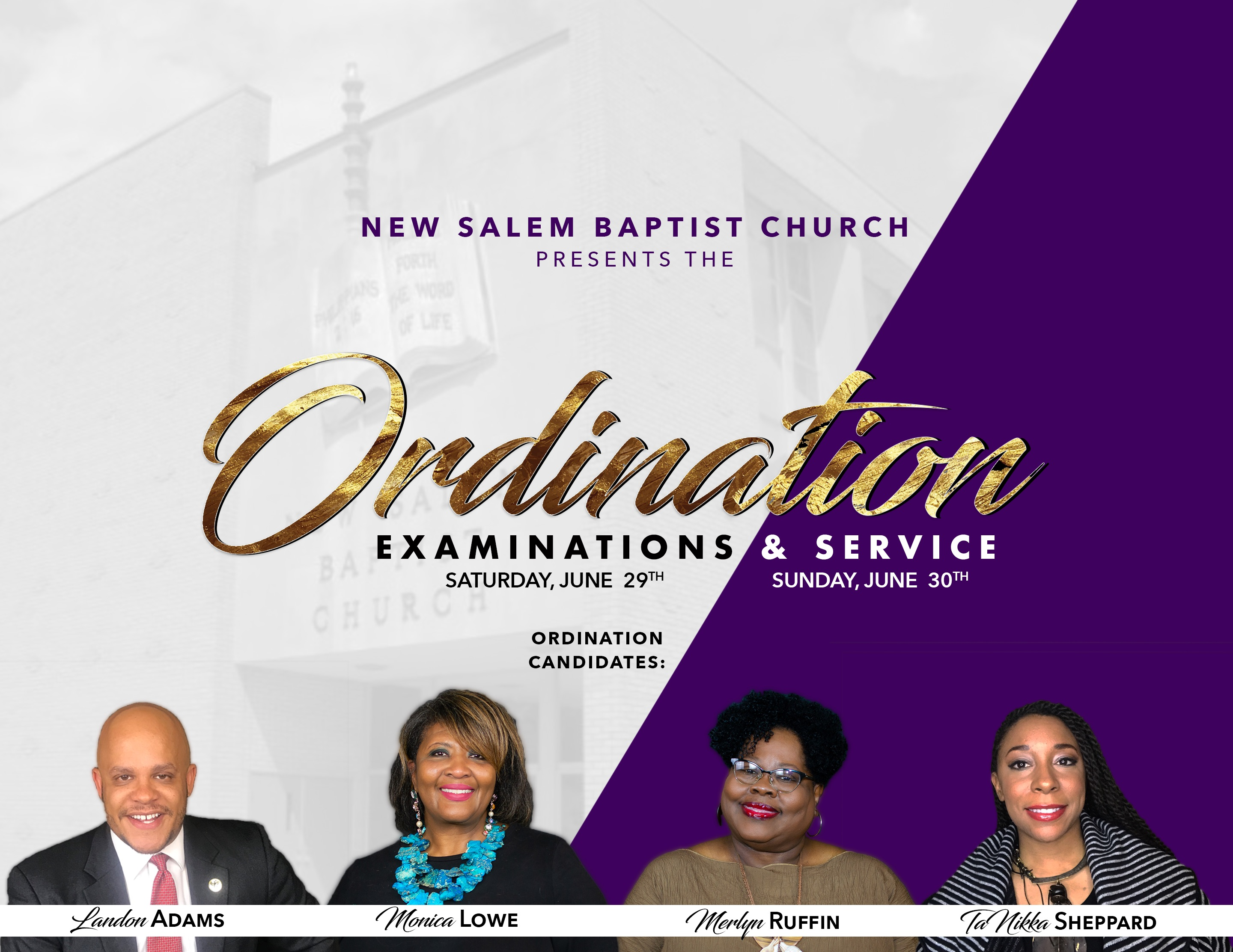 Ordination (New Salem)