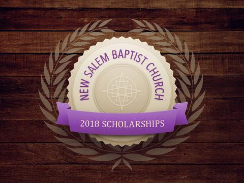 2018 New Salem Scholarships