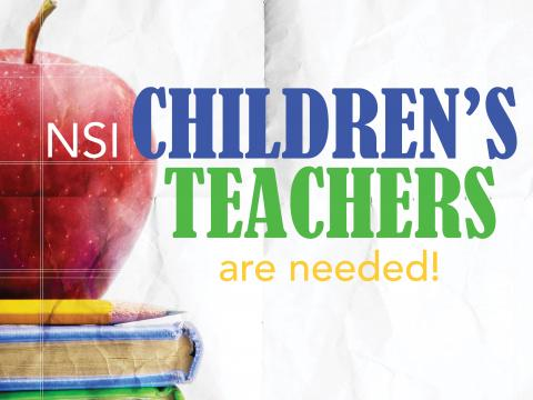 Children's NSI Teachers