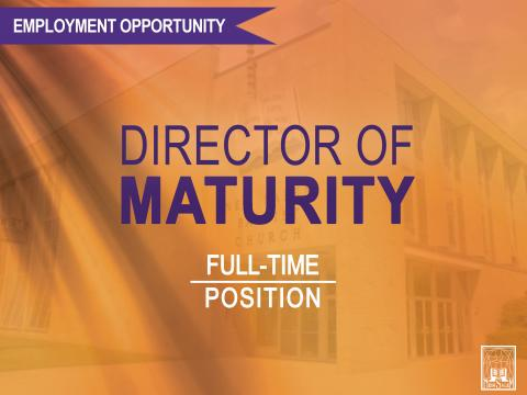 Director of Maturity Employment Opportunity