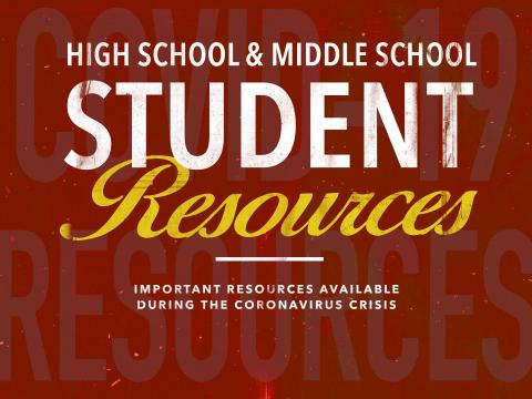 High School and Middle School Resources