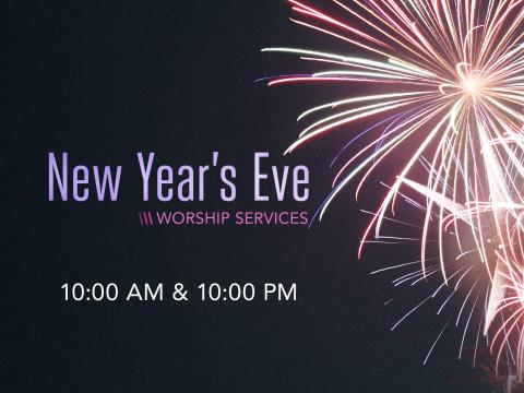 New Year's Eve Worship Services